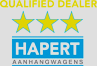 Qualified Dealer HAPERT Aanhangwagens